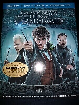 Fantastic Beasts: The Crimes of Grindelwald Blu-ray/DVD/Digital/Extended cut