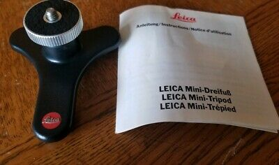Leica 14320 Mini-Tripod with Ball and Socket Joint for Compact Cameras