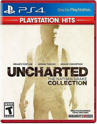 Uncharted: The Nathan Drake Collection [Sony PlayStation 4 PS4 3 Action Games]