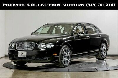 2006 Bentley Continental Flying Spur  2006 Bentley Continental Flying Spur 1 Owner Only 17k Miles Black/Tan