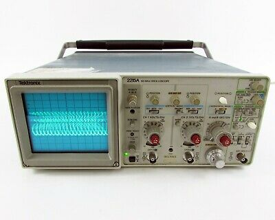 Tektronix 2215A Analog Oscilloscope - Two Channels, 60MHz