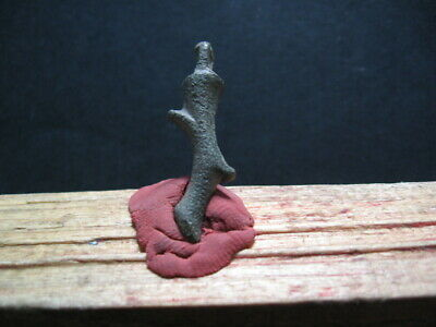 Zeus's Thunderbold Amulet Ancient Celtic Greek Bronze Talisman 300-100 B.c.