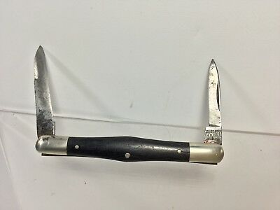 Case Bros.Cutlery Little Valley, NY. 2-Blade,Wood Handle, Swell Center Pen Knife