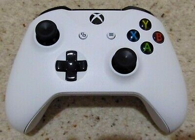 Official Microsoft 2016 Xbox One S 1708 White Wireless Controller