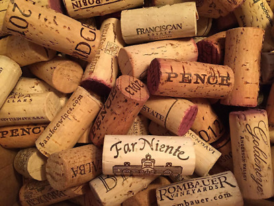 Lot of 50 Real/Natural Used Wine Corks NO Plastic or Champagne arts & crafts