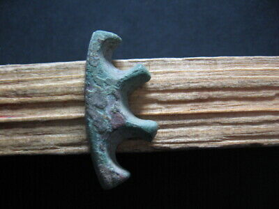 Unique € Form Proto Money Ancient Celtic Bronze Proto Currency 600-400 B.c.