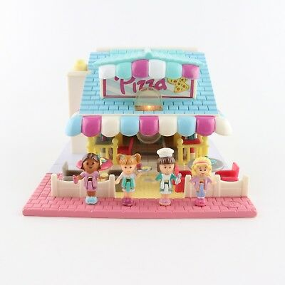 POLLY POCKET 1993 LIGHT UP Pizzeria Pizza Parlour *COMPLETE*