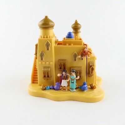 POLLY POCKET DISNEY 1995 Aladdin Agrabah Marketplace *COMPLETE*