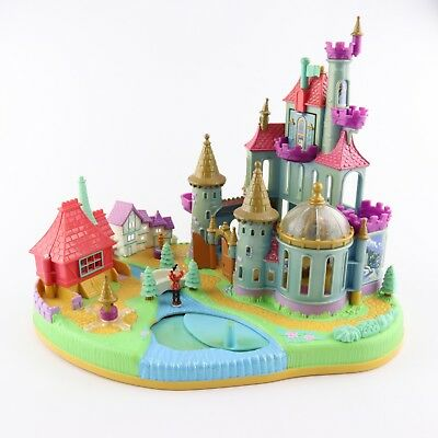 POLLY POCKET DISNEY 1997 Beauty and the Beast Magical Castle w/1 original doll