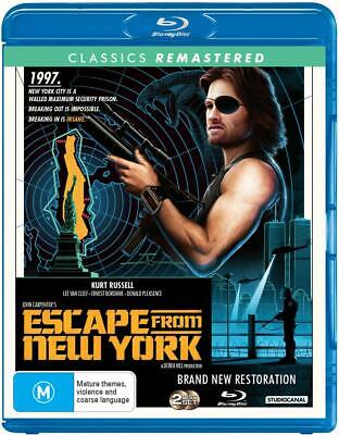 ESCAPE FROM NEW YORK (1981 2019 Remastered): Action, Sc-Fi - NEW Aus RgB BLU-RAY