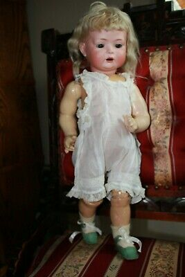 """Rare All Original Antique Toddler Doll Bahr and Proschild Mold 604 18"""" inches"""