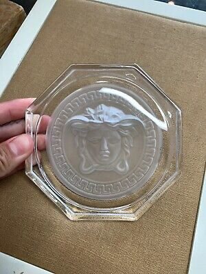 "Versace By Rosenthal, Germany  ""medusa Crystal"" Coaster"". Never Used."