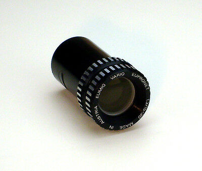 Lens for 8mm Eumig Film Projector Eupronet 1,3/15-30 Vario