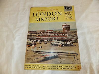 London Airport - 1962 Complete Guide . 32 Page Piece Of History
