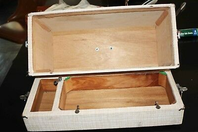 Wooden Sewing Machine case only - excellent condition