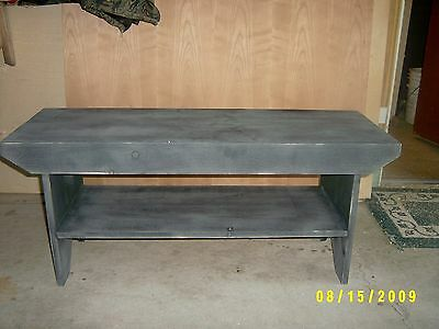 "15"" Wide Coffee Table Or Oversized Bench Nice Size"