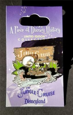 DLR Piece of Disney History I 1 - Jungle Cruise -  Mickey Mouse LE Pin