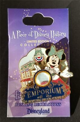 f2887220542a DLR Piece of Disney History I 1 - Emporium Bunting Decorations Disneyland  LE Pin