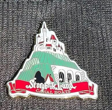 Disney DLR - Storybook Land Canal Boats Series #1 - Castle on the Hilltop Pin