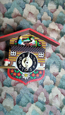 Vintage Engstler mini Cuckoo Clock German