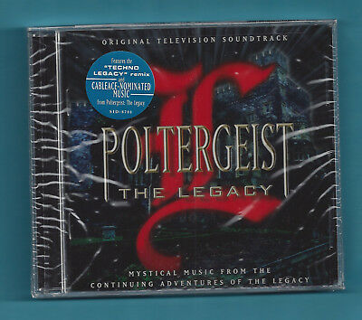 Poltergeist: The Legacy SOUNDTRACK CD John Van Tongeren 1997 Sonic Images SEALED