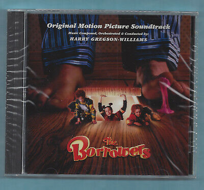 The Borrowers SOUNDTRACK CD Harry Gregson-Williams 1998 SEALED MojoTrax Polygram