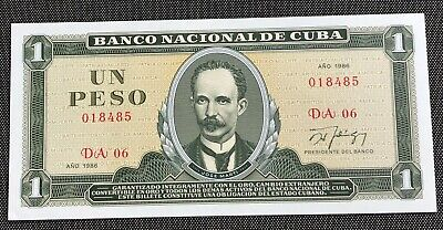 Caribean Nation 1 Peso Note Uncirculated Condition & Highly Collectible Scarce