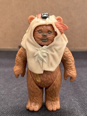 Vintage Star Wars ROTJ Ewok Chief Chirpa Hood Headdress Accessory mint condition