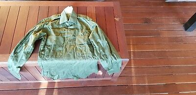 Australian Army Long Sleeved Jungle Green Shirt – Medium