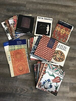 VTG Christie's Sotheby's Textile Museum Journal Mixed Catalog - Carpets & More