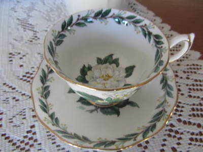 Vintage - ''Royal Albert'' -  ''Lady Clare''  - Cup / Saucer Duo