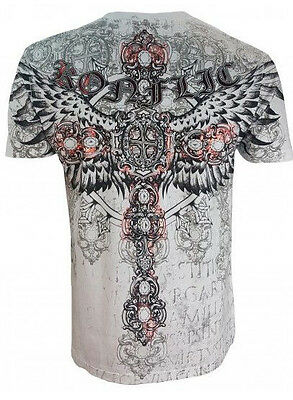 Konflic Red Phoenix T Shirt Men's All Over Print Mma Designer Wear All Sizes