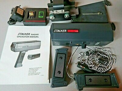 Stalker ATR Applied Concepts Handheld Radar Gun with Chargers and Bracket