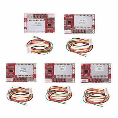 Lithium Battery Protective Board 50A With Balance Polymer Battery BMS Component