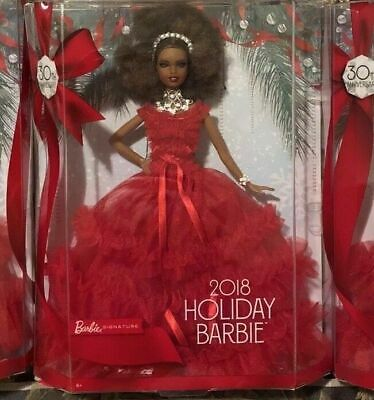 Barbie 2018 Holiday Doll, Signature, Collectible , Toys, Girls,