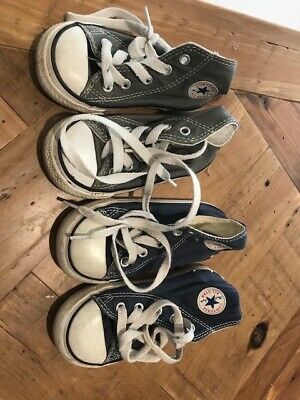 Converse All Star Chuck Taylor kids/ Toddler shoes sizes US 6 & 7
