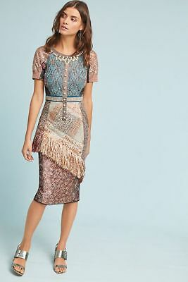 a5c7d849f3f3 NWT ANTHROPOLOGIE LILLIAN Column Dress by Byron Lars Size 2 $658 ...