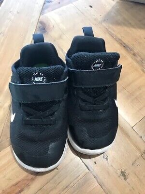 Nike shoes black Kids/Toddler size US 7C