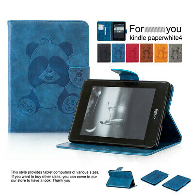 """Panda Pattern Case For 6"""" Amazon Kindle Paperwhite 1 2 3 PU Leather Stand Cover"""
