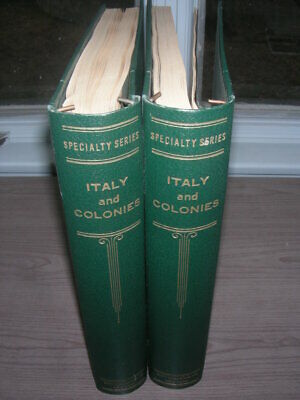 ITALIAN COLONIES, Fantastic Mint Stamp Collection hinged in a 2 Volume Scott