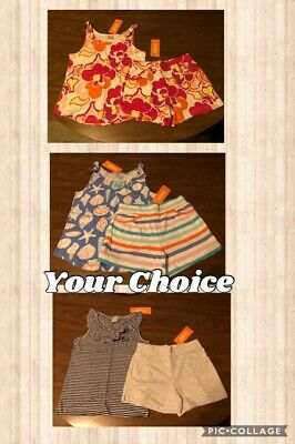 NEW Girl/'s Gymboree Shorts Outfits Size 5//6 /& Size 7//8