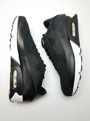 Nike Air Max 90 Ultra 2.0 Flyknit 875943-004 Black/White Mens Shoes Size 10 New