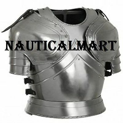 Collectibles Medieval Plate Armour Cuirass With Pauldrons, Late 15th Century