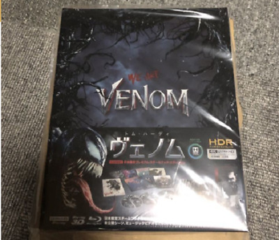 Venom Premium Steel book Edition 4K ULTRA HD Blu-ray Limited Official Gift