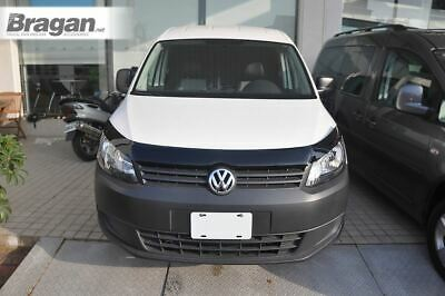 To Fit 2010 - 2015 Volkswagen Caddy Smoked Hardened Acrylic Bonnet Guard Shield