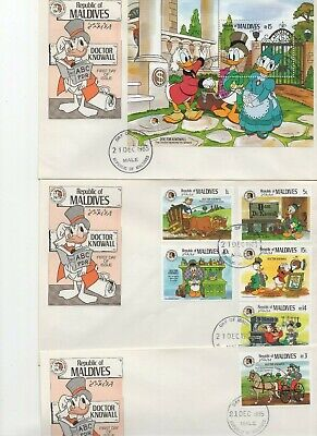 2019 New Style Lesotho 1985 The Wishing Table Grimm Christmas Disney Duck Fairytale Fdc W96818 Stamps