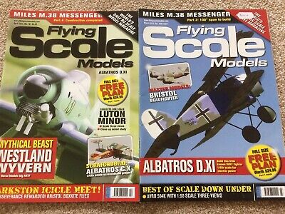 2 FLYING SCALE MODELS MAGs MARCH APRIL AS2 PT FREE PLAN ALBATROS CI 52IN 2013