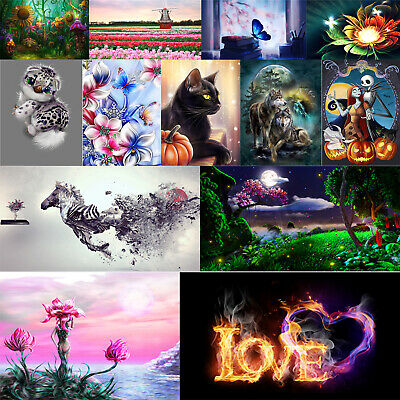 Full Drill 5D DIY Novelty Diamond Painting Embroidery Cross Stitch Kit Art Craft