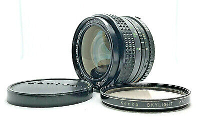 *EXC++* MINOLTA MC W.ROKKOR SG 28mm f/3.5 MF Wide Angle MC/MD Mount Lens F.JAPAN