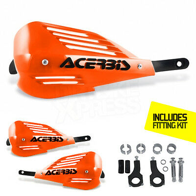 New Acerbis ENDURANCE Handguards Enduro Orange Motocross Guards KTM EXC-F EXC XC